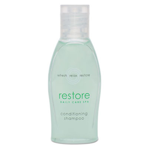 Dial Restore Conditioning Shampoo, Aloe, 1 oz Bottle, Clean Scent, 288/Carton (DIA06026)