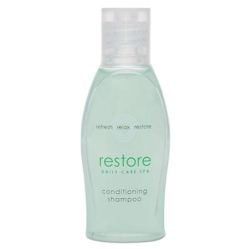 Dial Restore Conditioning Shampoo, Aloe, 1 oz Bottle, Clean Scent, 288/Carton (DIA06026)