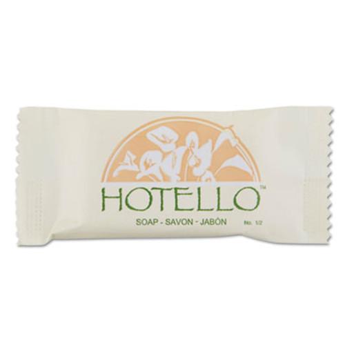 Hotello Hotello Bar Soap, # 3/4, Individually Wrapped, 1000/Carton (DIA300075A)