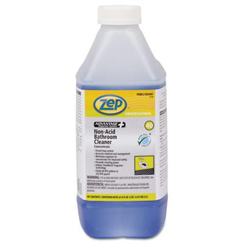 Zep Professional Advantage+ Concentrated Non-Acid Bathroom Cleaner, 67.6 oz Bottle (ZPER35901EA)