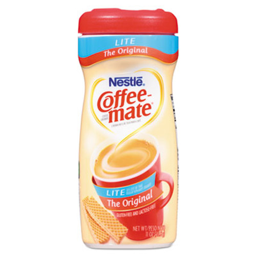 Coffee-mate Powdered Original Lite Creamer, 11 oz. Canister, 12/Carton (NES74185CT)
