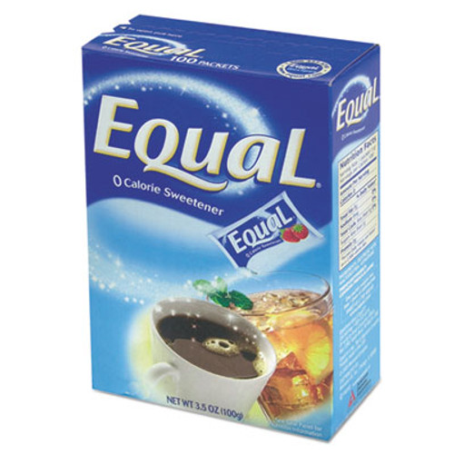 Equal Zero Calorie Sweetener, 1 g Packet, 115/Box, 12 Box/Carton (OFX20015445CT)