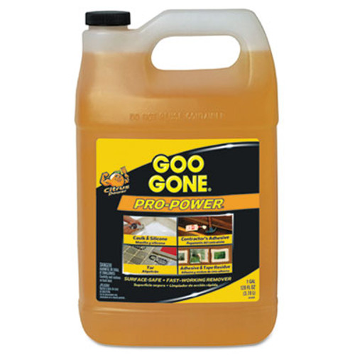 Goo Gone Pro-Power Cleaner, Citrus Scent, 1 gal Bottle (WMN2085)