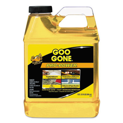 Goo Gone Pro-Power Cleaner, Citrus Scent, 1 qt Bottle (WMN2112)