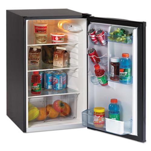 """Avanti 4.4 CF Auto-Defrost Refrigerator, 19 1/2""""w x 22""""d x 33""""h, Black (AVAAR4446B)"""