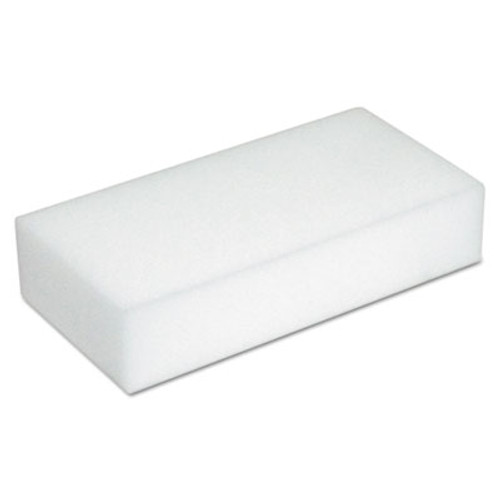 Boardwalk Disposable Eraser Pads, White, Foam, 2 2/5 x 4 3/5, 100/Carton (BWK400100)