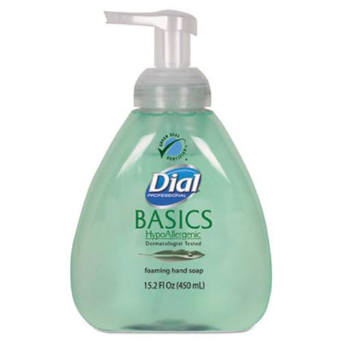 Dial Basics Foaming Hand Soap, Honeysuckle, 15.2 oz Pump Bottle (DIA98609EA)