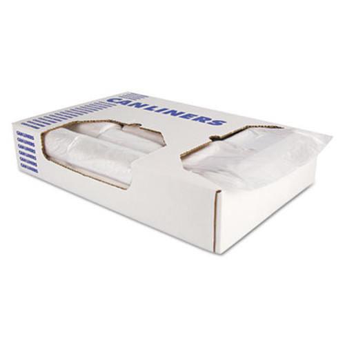 AccuFit Accufit Low-Density Can Liners, 23 gal, 0.9 mil, 28 x 45, Clear, 200/Carton (HERH5645TCR01)
