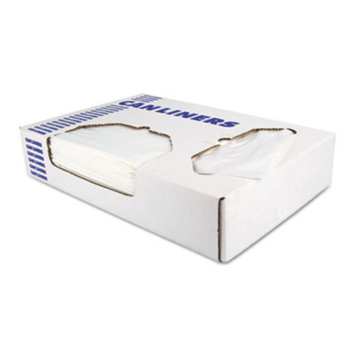 Heritage Low-Density Can Liners, 12-16 gal, 0.35 mil, 24 x 32, Clear, 1000/Carton (HERD4832RC)