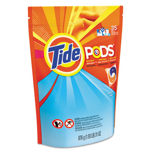 Tide Pods, Laundry Detergent, Ocean Mist, 35/Pack (PGC93126EA)