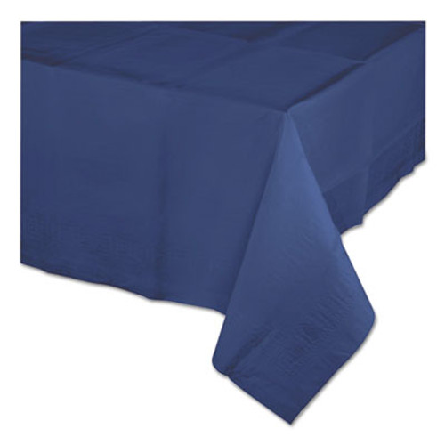 "Creative Converting Paper Tablecovers, 54"" x 108"", Navy Blue, 24/Carton (COV710242B)"