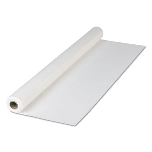 "Hoffmaster Plastic Roll Tablecover, 40"" x 300 ft, White (HFM114000)"