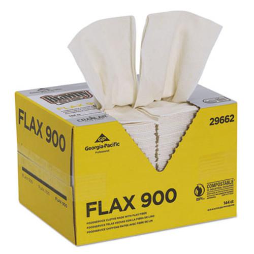 Brawny Dine-A-Cloth FLAX Foodservice Wipers, 12 3/4 x 21, White, 144/Box (GPC29662)
