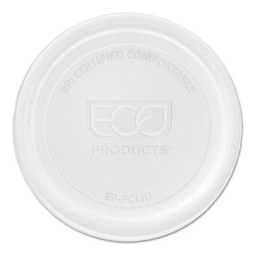 Eco-Products Renewable & Compostable Portion Cup Lids - Universal, 100/PK, 20 PK/CT (ECOEPPCLID)