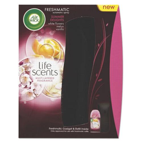 Air Wick Freshmatic Life Scents Starter Kit, Summer Delights, 6.17 oz Aerosol (RAC92944EA)