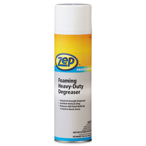 Zep Professional Foaming Heavy Duty Degreaser, Pine Scent, 20 oz Aerosol Can, 12/Carton (ZPE1042221)