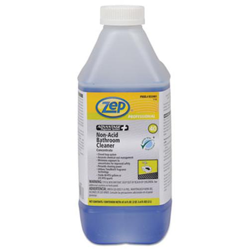 Zep Professional Advantage+ Concentrated Non-Acid Bathroom Cleaner, 67.6 oz Bottle, 4/Carton (ZPER35901CT)
