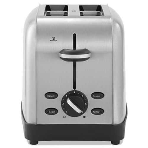 Oster Extra Wide Slot Toaster, 2-Slice, 8 x 12 7/8 x 8 1/2, Stainless Steel (OSRRWF2S)