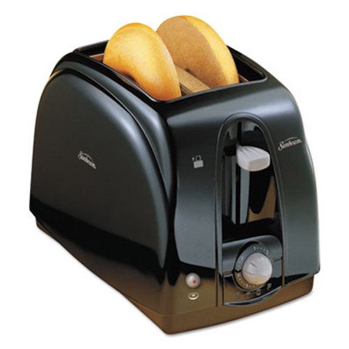 Sunbeam Extra Wide Slot Toaster, 2-Slice, 7 x 11 1/2 x 7.8, Black (SUN39101)