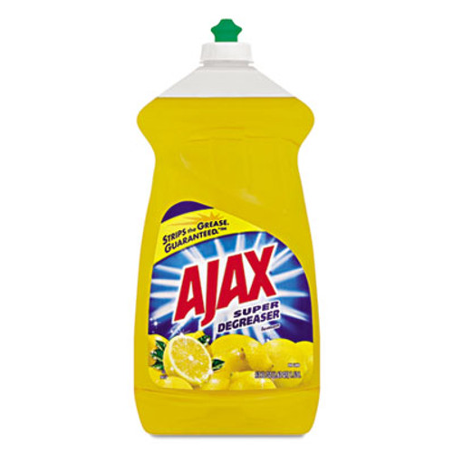 Ajax Dish Detergent, Lemon Scent, 52 oz Bottle, 6/Carton (CPC49861)