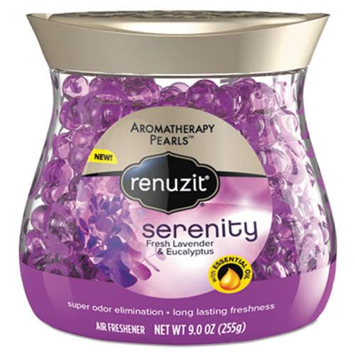 Renuzit Pearl Scents Odor Neutralizer, Aromatherapy Serenity, 9 oz Jar (DIA02201EA)