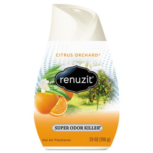 Renuzit Adjustables Air Freshener, Citrus Sunburst, 7 oz Cone, 12/Carton (DIA35000CT)
