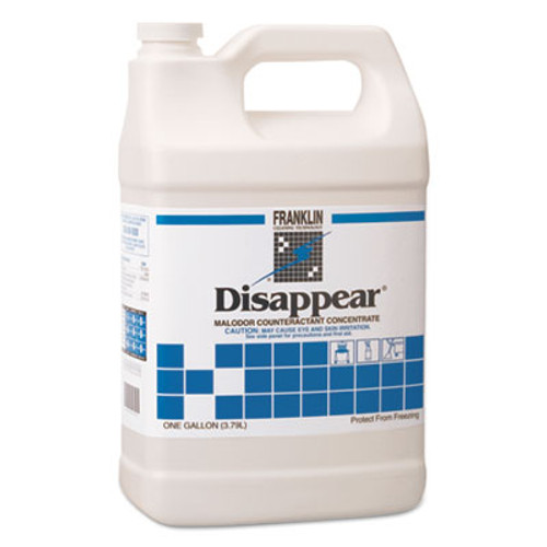 Franklin Cleaning Technology Disappear Concentrated Odor Counteractant, Spring Bouquet Scent, 1gal, 4/CT (FKLF510522)