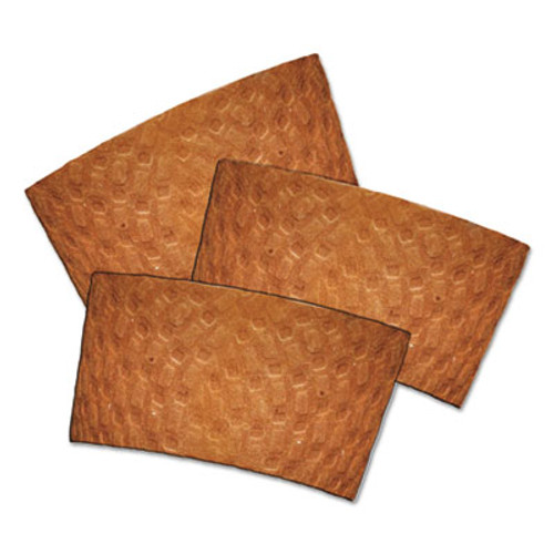 Dopaco Kraft Hot Cup Sleeves, For 10-24 oz Cups, Brown, 1000/Carton (PCTDSLVBRN)
