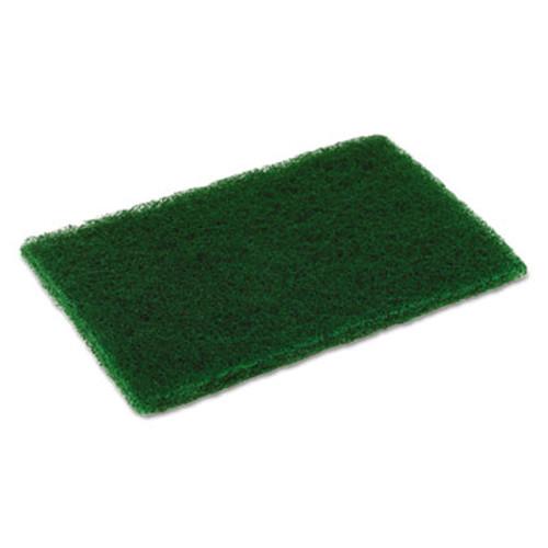 Disco Medium Duty Scouring Pad, 6 x 9, Green, 10 per Pack, 6 Packs/Carton (CMCMD6900)
