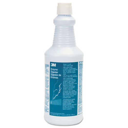 3M Enzyme Digester, 32 oz Bottle, 384/Carton (MMM34753)