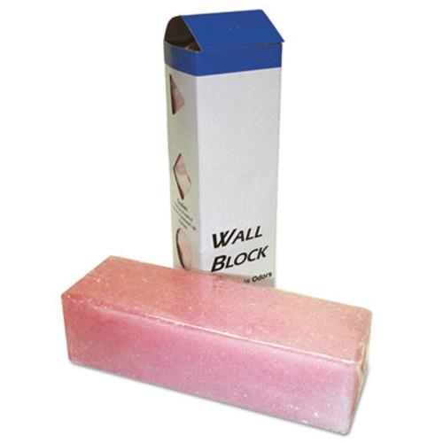 Boardwalk Deodorizing Para Wall Blocks, 24oz, Pink, Cherry, 6/Box (BWKW24)