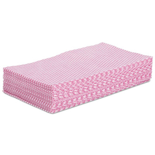 Boardwalk Foodservice Wipers, Pink/White, 12 x 21, 200/Carton (BWKN8140)