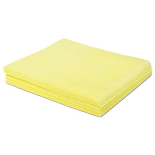 Boardwalk Dust Cloths, 18 x 24, Yellow, 500/Carton (BWKDSMFPY)