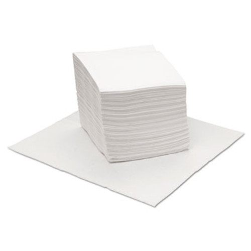 Boardwalk DRC Wipers, White, 12 x 13, 18 Bags of 56, 1008/Carton (BWKV040QPW)