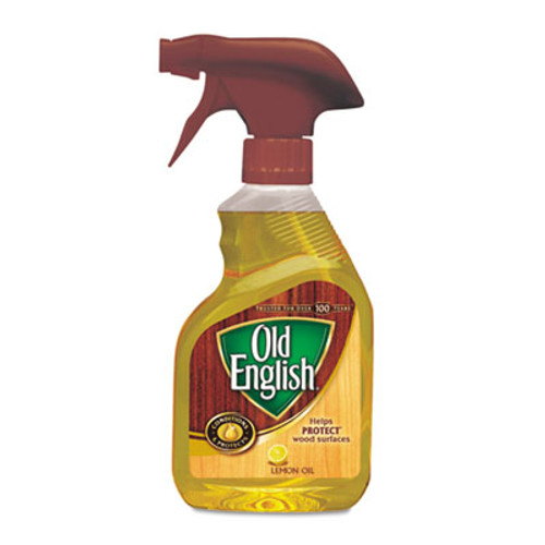 OLD ENGLISH Lemon Oil, Furniture Polish, 12oz, Spray Bottle, 6/Carton (RAC82888CT)