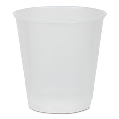 Pactiv Translucent Plastic Cups, 3 oz, 80/Pack, 30 Pack/Carton (PCTYE3)