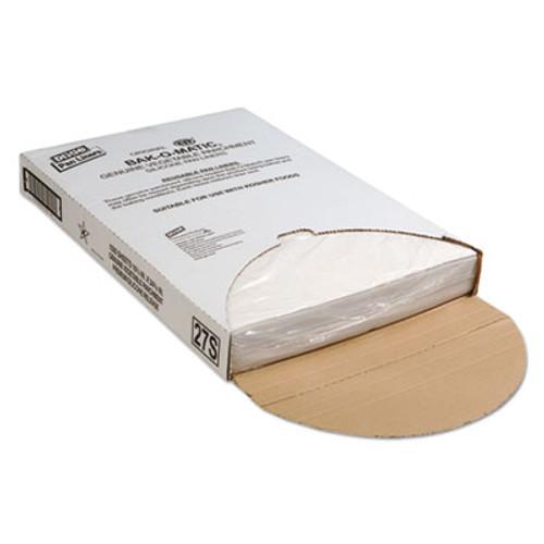 Dixie Yellow Label Parchment Pan Liner, 16 1/3 x 24 1/3, 1000/Carton (DXE27S)