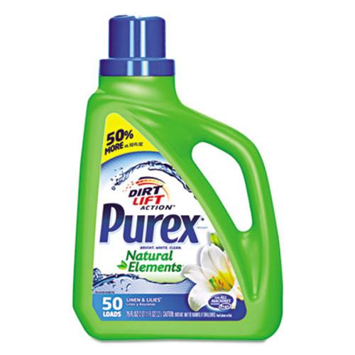 Purex Ultra Natural Elements HE Liquid Detergent, Linen & Lilies, 75 oz Bottle (DIA01120EA)