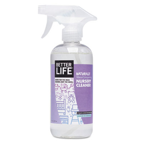 Better Life Naturally Mess-Conquering Nursery Cleaner,Lavender Chamomile, 16 oz Spray Bottle (BTR895454002072)