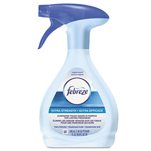 Febreze FABRIC Refresher/Odor Eliminator, Extra Strength, Original, 16.9 oz Spray Bottle (PGC84220EA)
