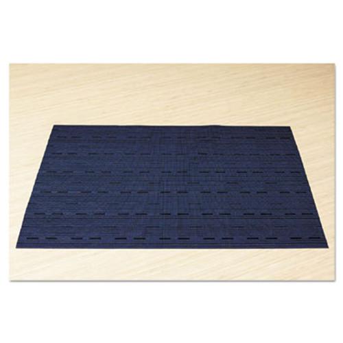 Office Settings Placemats, 17 x 12, Blue, 12/Box (OSIVPMBL)