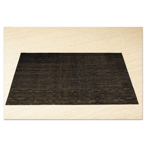 Office Settings Placemats, 17 x 12, Black, 12/Box (OSIVPMBK)