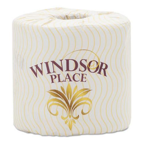 Atlas Paper Mills Windsor Place Premium Bathroom Tissue, 2-Ply, 4.5 x 3.5, 400/Roll, 96/Carton (APM374WINDSOR)