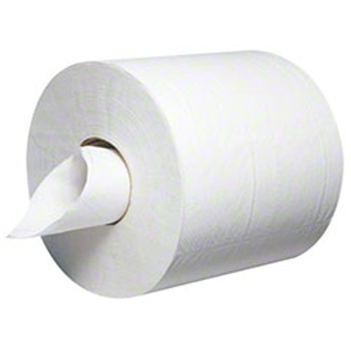 Atlas Paper Mills Windsor Place Center Pull Towels, 2-Ply, 8 x 9, White, 600/Roll, 6/Carton (APMCP600WINDSOR)