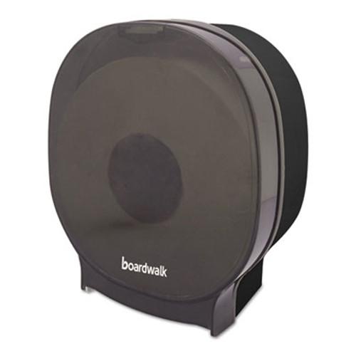 Boardwalk Single Jumbo Toilet Tissue Dispenser, 1 Jumbo Roll, Smoke Black,5.562x10x11 7/8 (BWKJT109SBBW)