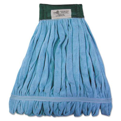 Boardwalk Microfiber Looped-End Wet Mop Heads, Medium, Blue, 12/Carton, 12/Carton (BWKMWTMBCT)