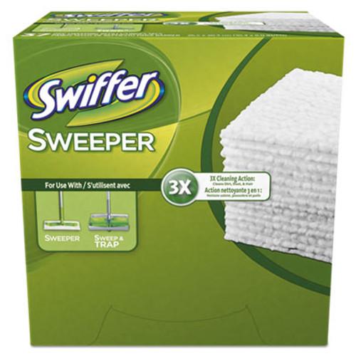 Swiffer Dry Refill Cloth, White, 10 2/5 x 8, 37/Box, 4 Box/Carton (PGC82822CT)
