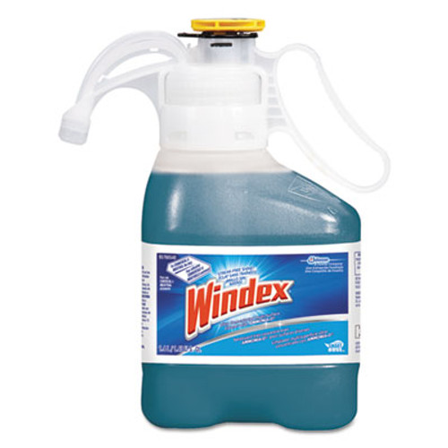 Windex Ultra Concentrated Multi-Surface Cleaner with Ammonia-D, 1.4 L Bottle, 2/Carton (DVO95766540)