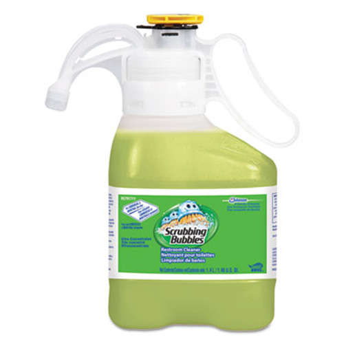 Scrubbing Bubbles Ultra Concentrated Restroom Cleaner, Citrus Scent, 1.4 L Bottle, 2/Carton (DVO95791711)