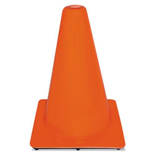 3M Non-Reflective Safety Cone, 9 x 9 x 12, Orange (MMM9012700001)